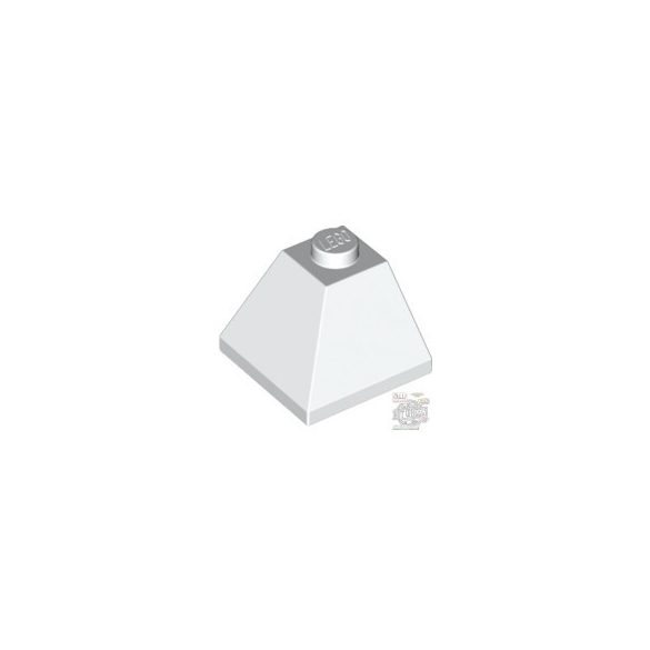 Lego CORNER BRICK 2X2/45° OUTSIDE, White