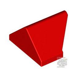 Lego ATTIC 1X2/45°, Bright red