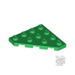 Lego Corner Plate 45 Deg. 4X4, Green