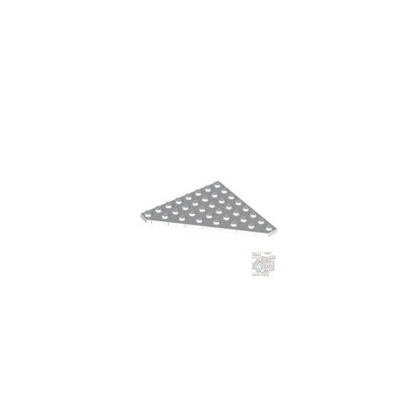 Lego CORNER PLATE 45 DEG. 8X8, White