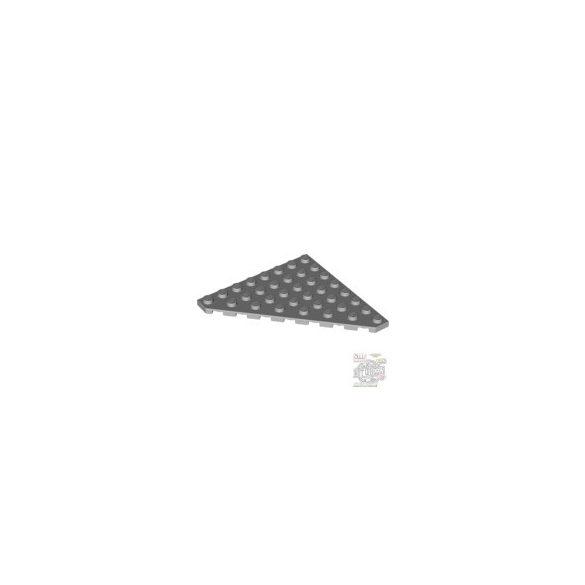 Lego Corner Plate 45 Deg. 8X8, Light grey