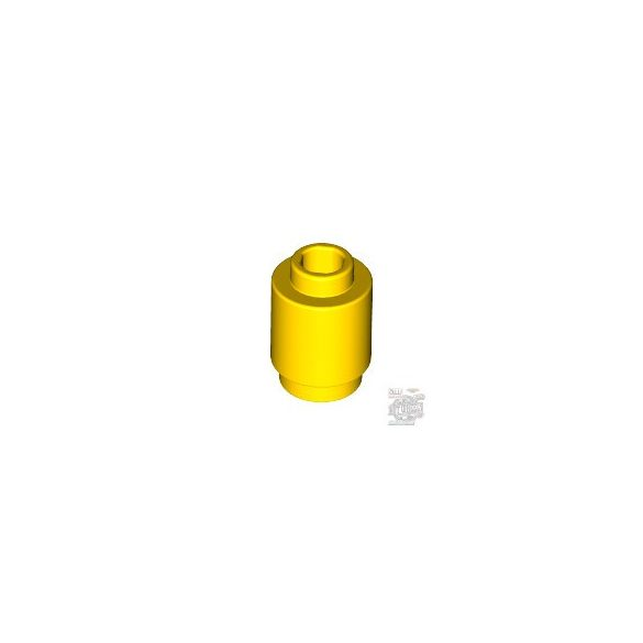 Lego Round Brick 1X1, Bright yellow