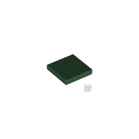 Lego Flat Tile 2X2, Eart green