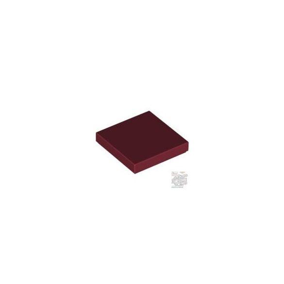 Lego Flat Tile 2X2, Dark red