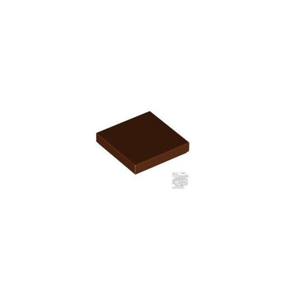 Lego Flat Tile 2X2, Reddish brown