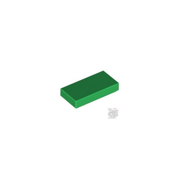 Lego FLAT TILE 1X2, Green