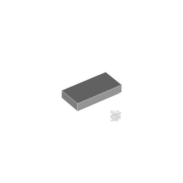 Lego Flat Tile 1X2, Light grey