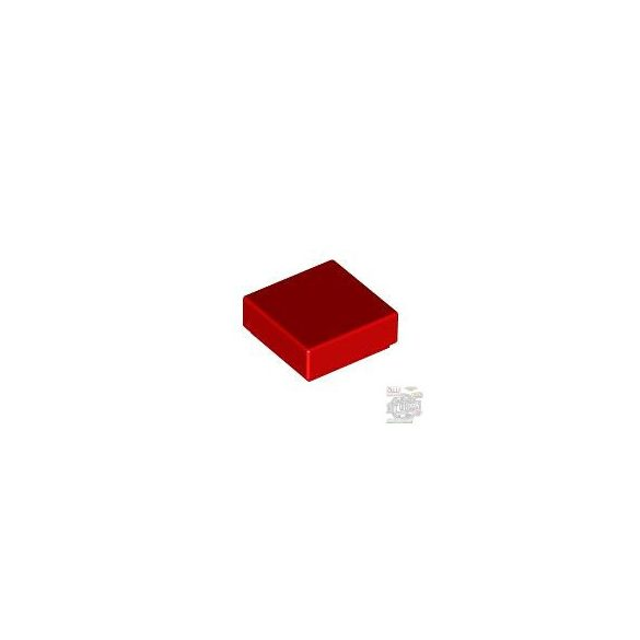 Lego Flat Tile 1X1, Bright red