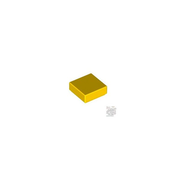 Lego FLAT TILE 1X1, Bright yellow