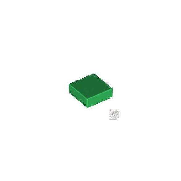 Lego FLAT TILE 1X1, Green