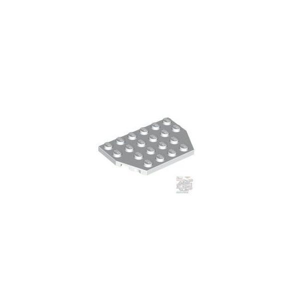 Lego Plate 4X6 26 Degrees, White