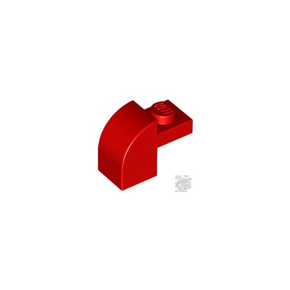 Lego BRICK 1X1X1 1/3, W/ ARCH, Bright red