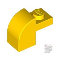 Lego BRICK 1X1X1 1/3, W/ ARCH, Bright yellow