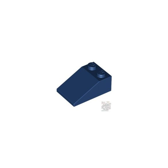 Lego ROOF TILE 2X3/25°, Earth blue