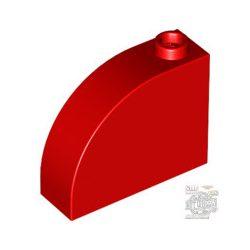 Lego BOW BRICK 1X3X2, Bright red