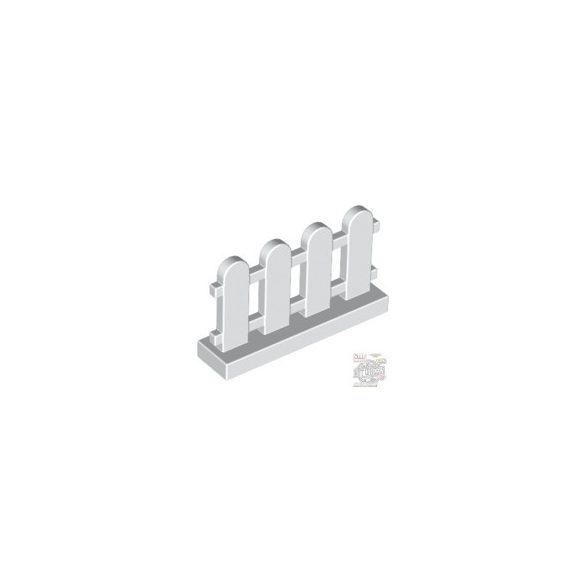 Lego FENCE 1X4X2, White