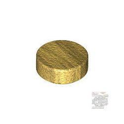Lego FLAT TILE 1X1, ROUND, Gold