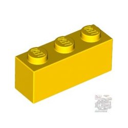 Lego Brick 1X3, Bright yellow