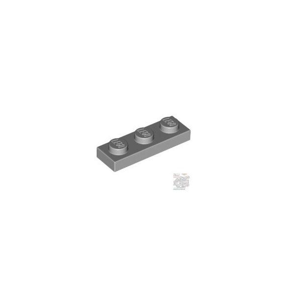 Lego Plate 1x3, Light grey