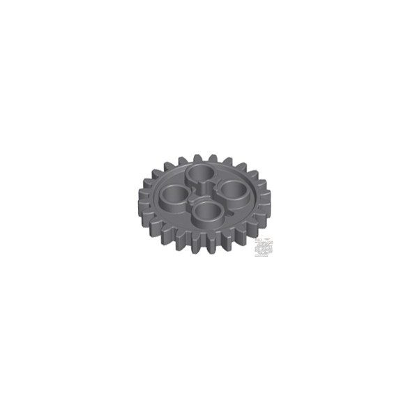 Lego Technic, Gear 24 Tooth (2nd Version - 1 Axle Hole)