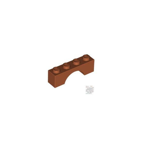 Lego BRICK W. BOW 1X4, Dark orange