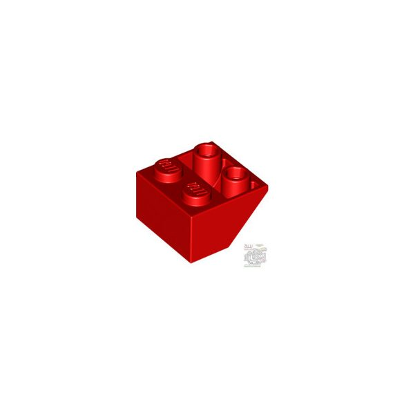 Lego ROOF TILE 2X2/45 INV., Bright red