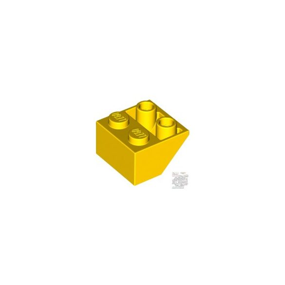 Lego ROOF TILE 2X2/45° INV., Bright yellow