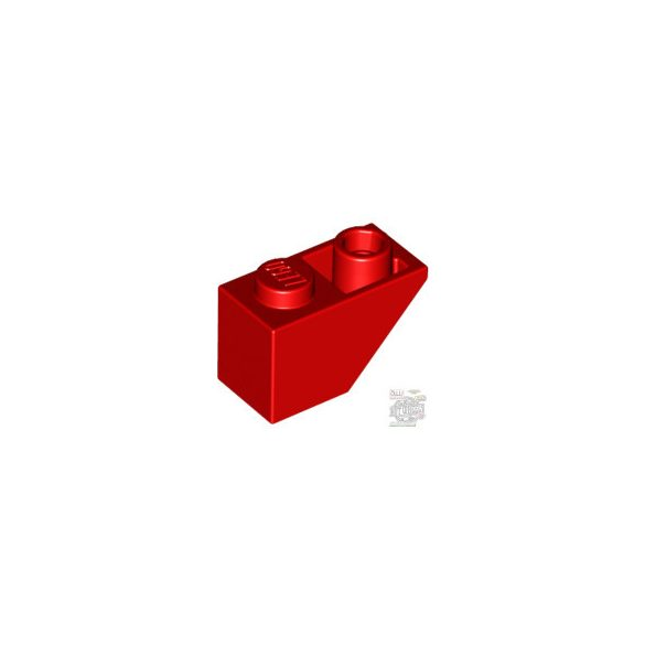 Lego ROOF TILE 1X2 INV., Bright red