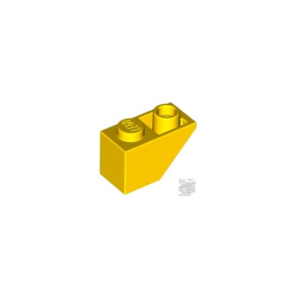 Lego ROOF TILE 1X2 INV., Bright yellow