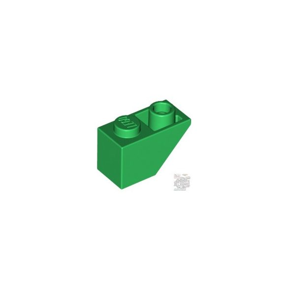 Lego ROOF TILE 1X2 INV, Green