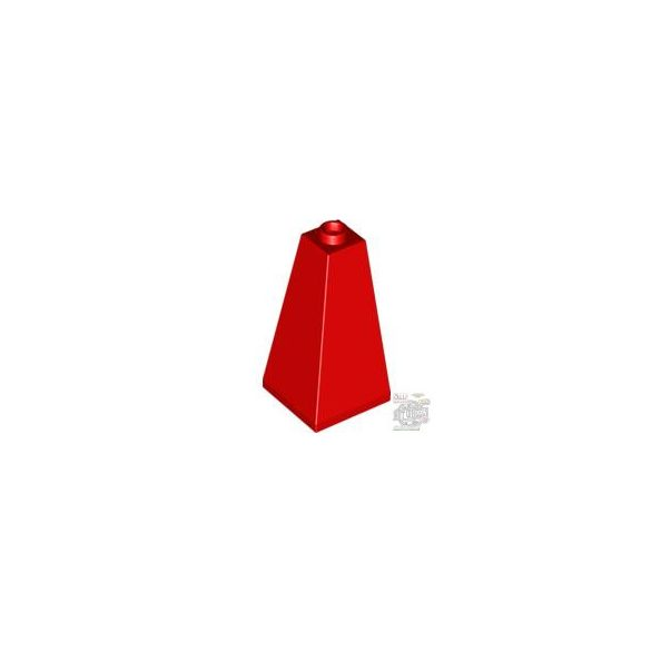 Lego ROOF TILE CORNER 2X2X3/73°, Bright red