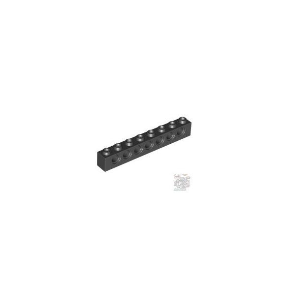 Lego Technic Brick 1X8 Ø4.9, Black