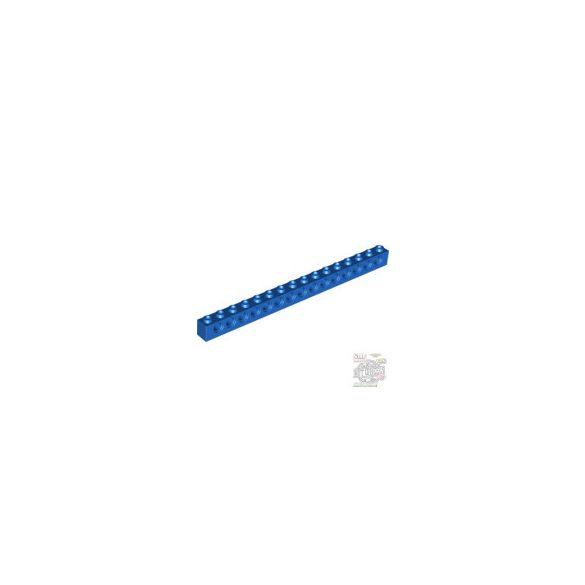 Lego BRICK 1X16, Ø4,9, Bright blue