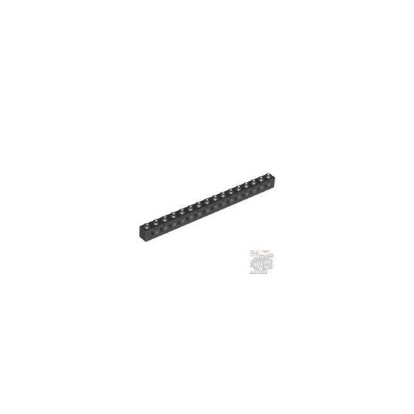 Lego Technic Brick 1X16 Ø4.9, Black