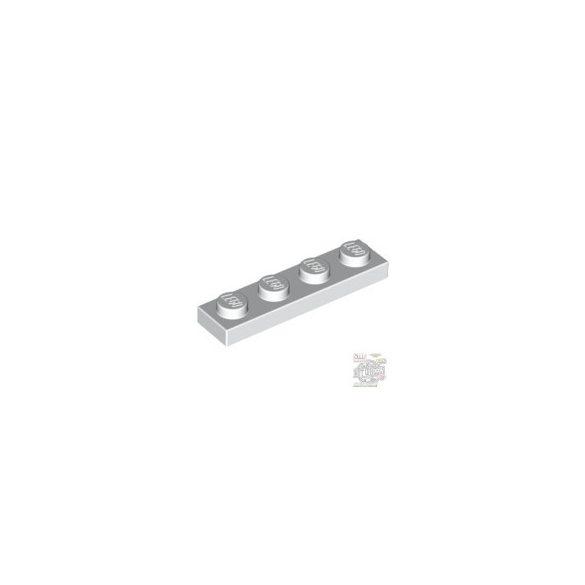 Lego Plate 1x4, White