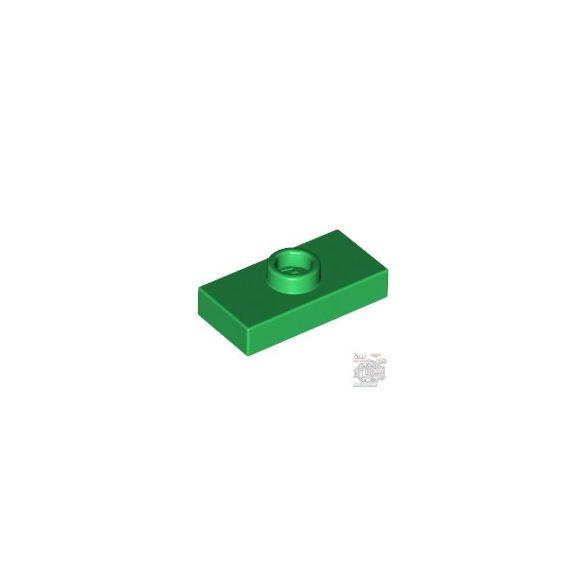 Lego Plate 1X2 W. 1 Knob, Green
