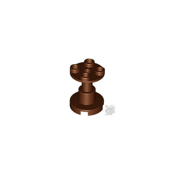 Lego UNDERCARRIAGE 2X2X2, Reddish brown