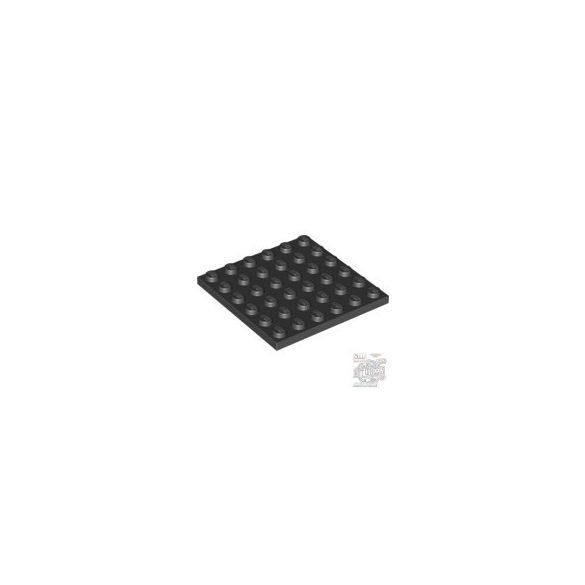 Lego Plate  6X6, Black