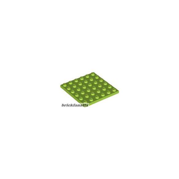 Lego Plate 6X6, Bright yellowish green