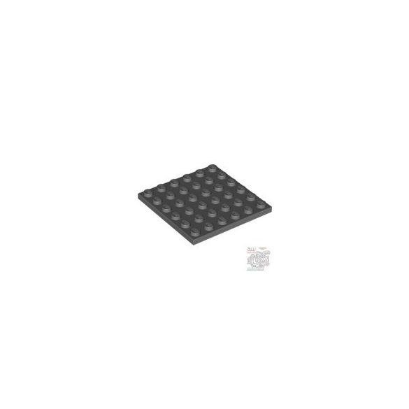 Lego Plate 6X6, Dark grey