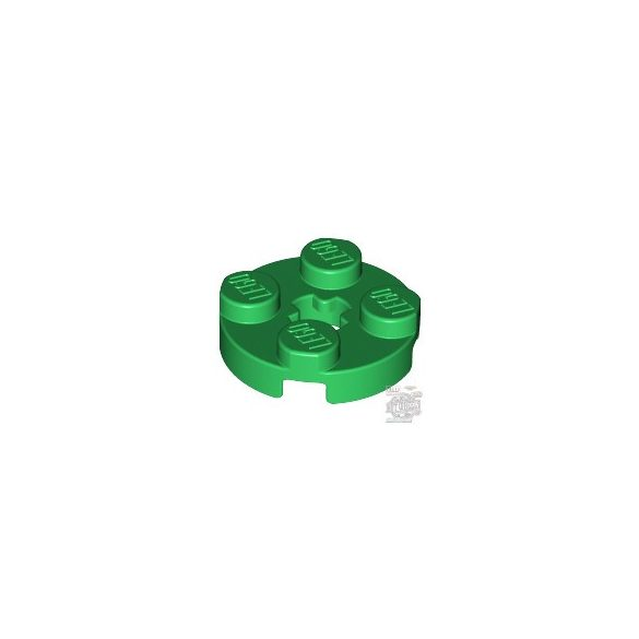Lego Plate 2X2 Round, Green