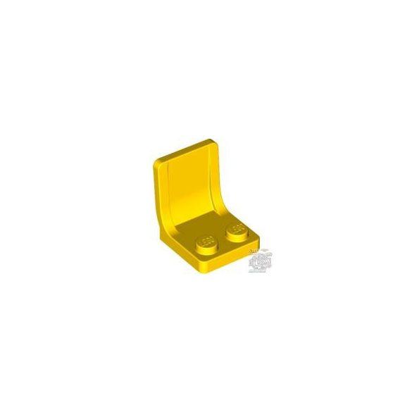 Lego Seat 2X2X2, Bright yellow