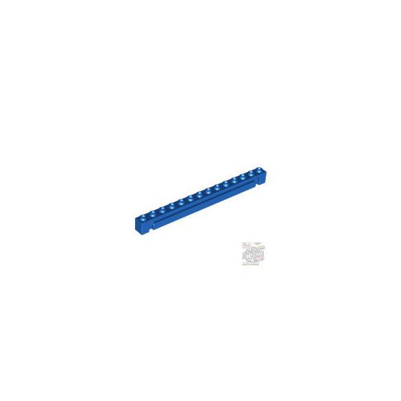 Lego Brick 1X14 W. Groove, Bright blue