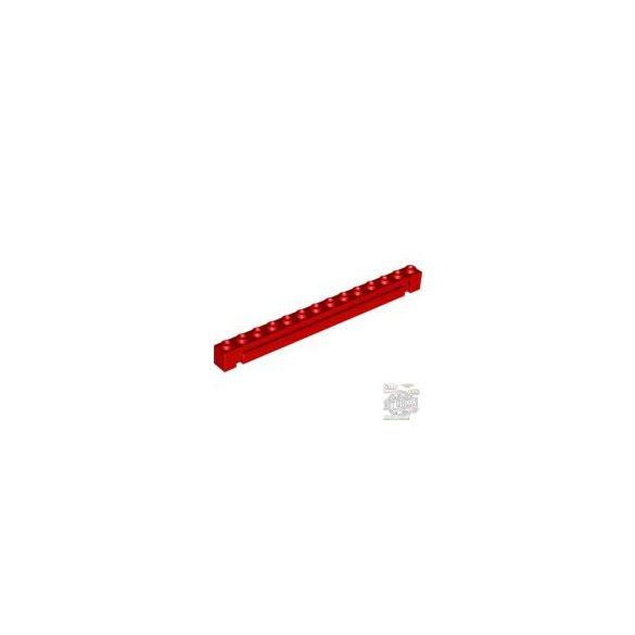 Lego BRICK 1X14 W. GROOVE, Bright red