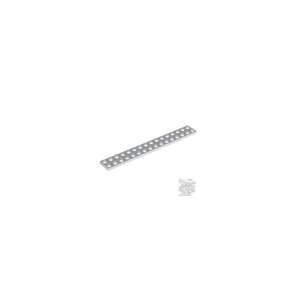 Lego Plate 2X16, White