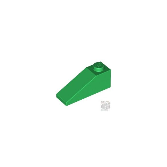 Lego ROOF TILE 1X3/25°, Green