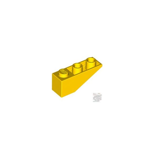 Lego ROOF TILE 1X3/25° INV., Bright yellow