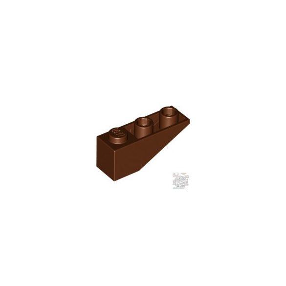 Lego ROOF TILE 1X3/25° INV., Reddish brown
