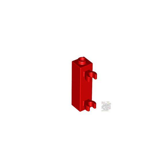 Lego BRICK 1X1X3 W. 2 GRIP, Bright red
