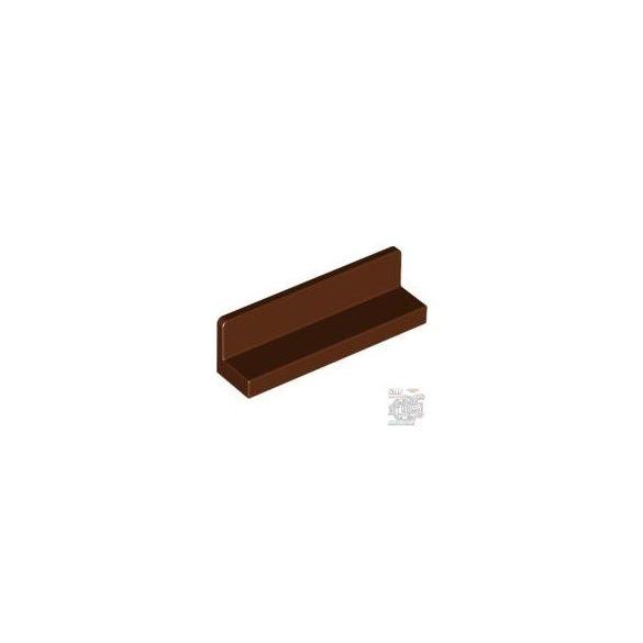Lego WALL ELEMENT 1X4X1 ABS, Reddish brown